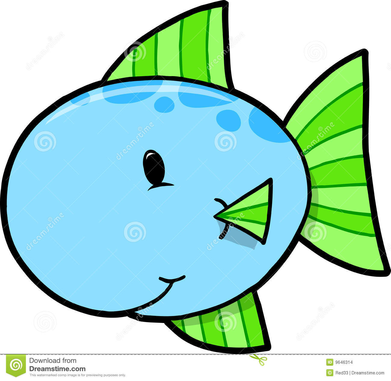 Cute Blue Fish Clipart   Clipart Panda   Free Clipart Images