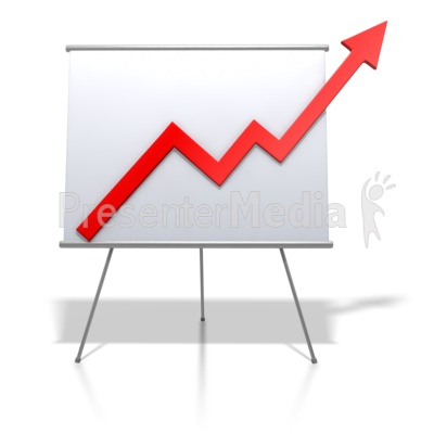 Financial Graph Increase   Signs And Symbols   Great Clipart For