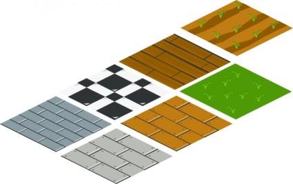 Isometric Floor Tile Clip Art Free Vector In Open Office Drawing Svg