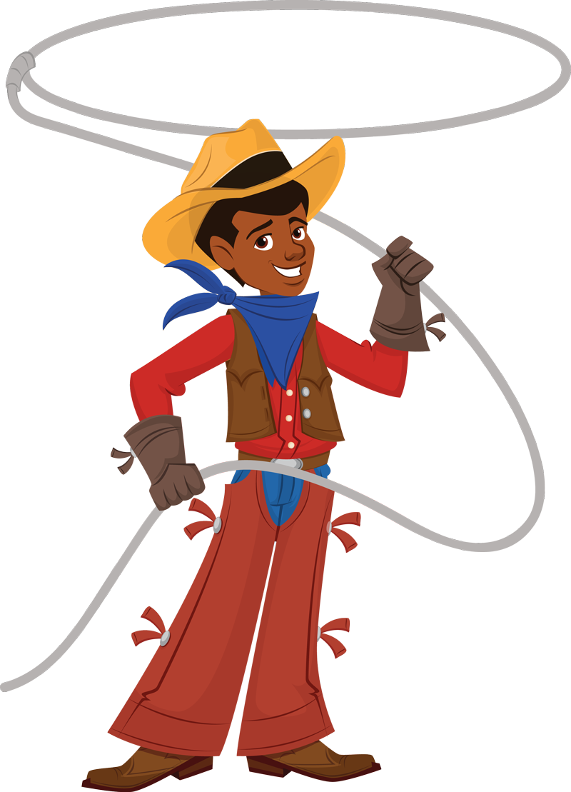 Cowboy Rope Clipart - Clipart Kid
