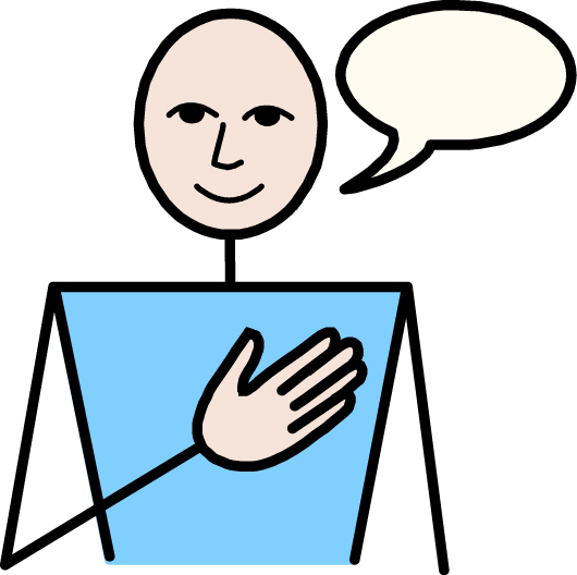 Person Speaking Clipart Speaking Clipart