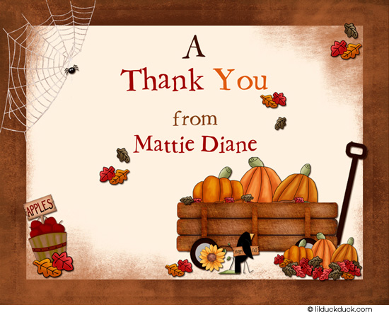 fall thank you clipart