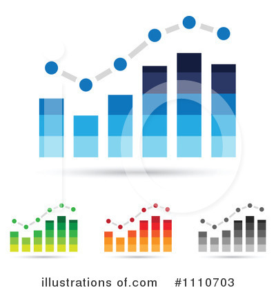 Royalty Free  Rf  Bar Graph Clipart Illustration By Cidepix   Stock