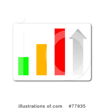 Royalty Free  Rf  Bar Graph Clipart Illustration By Oboy   Stock