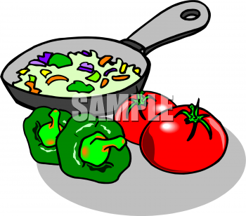 Showing Gallery For Cooked Vegetables Clipart