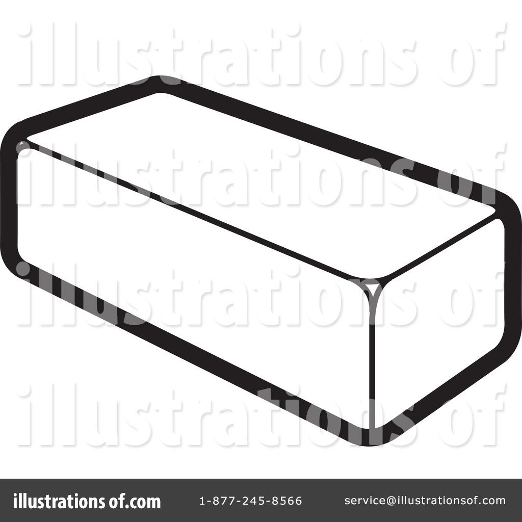 Brick Wall Clip Art: Single Brick Clipart