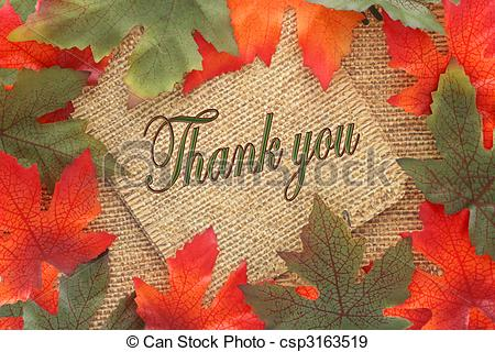 Stock Photographs Of Fall Background Thank You   Fall Background With