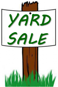 Yard Sale Signs Clipart - Clipart Suggest