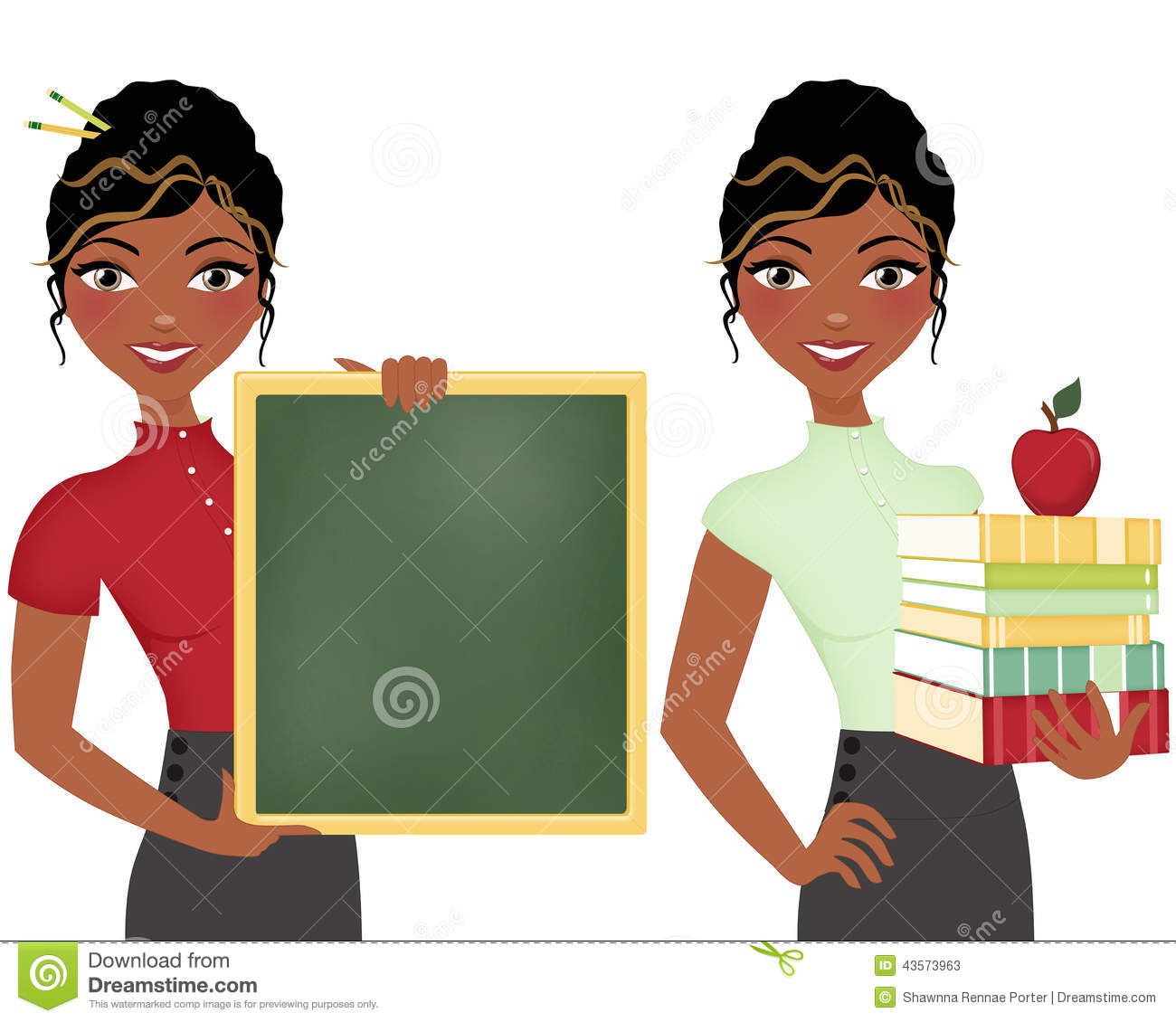 Free Educational Clip Art African American