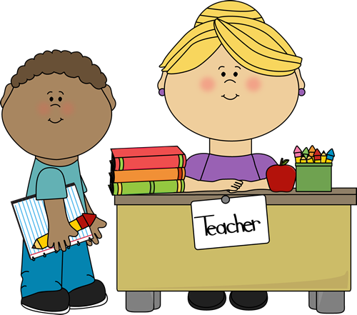 Boy Student At Teacher S Desk Clip Art   Boy Student At Teacher S Desk