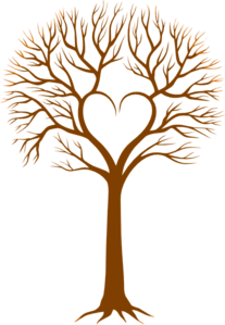 Brown Heart Tree Clip Art At Clker Com   Vector Clip Art Online