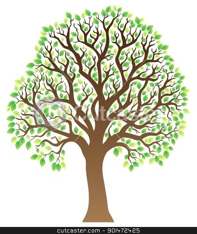 Brown Tree Clipart - Clipart Suggest