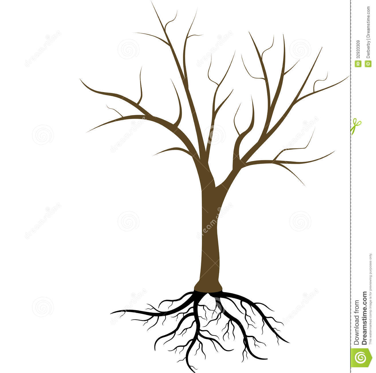 Brown Tree Without Leaves Clipart Tree Without Leaves Clip Art