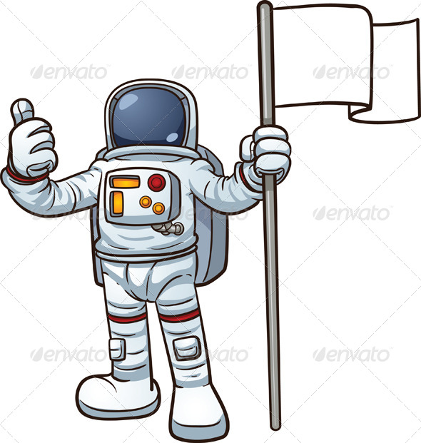 Cartoon Astronaut  Characters    Web The Planet