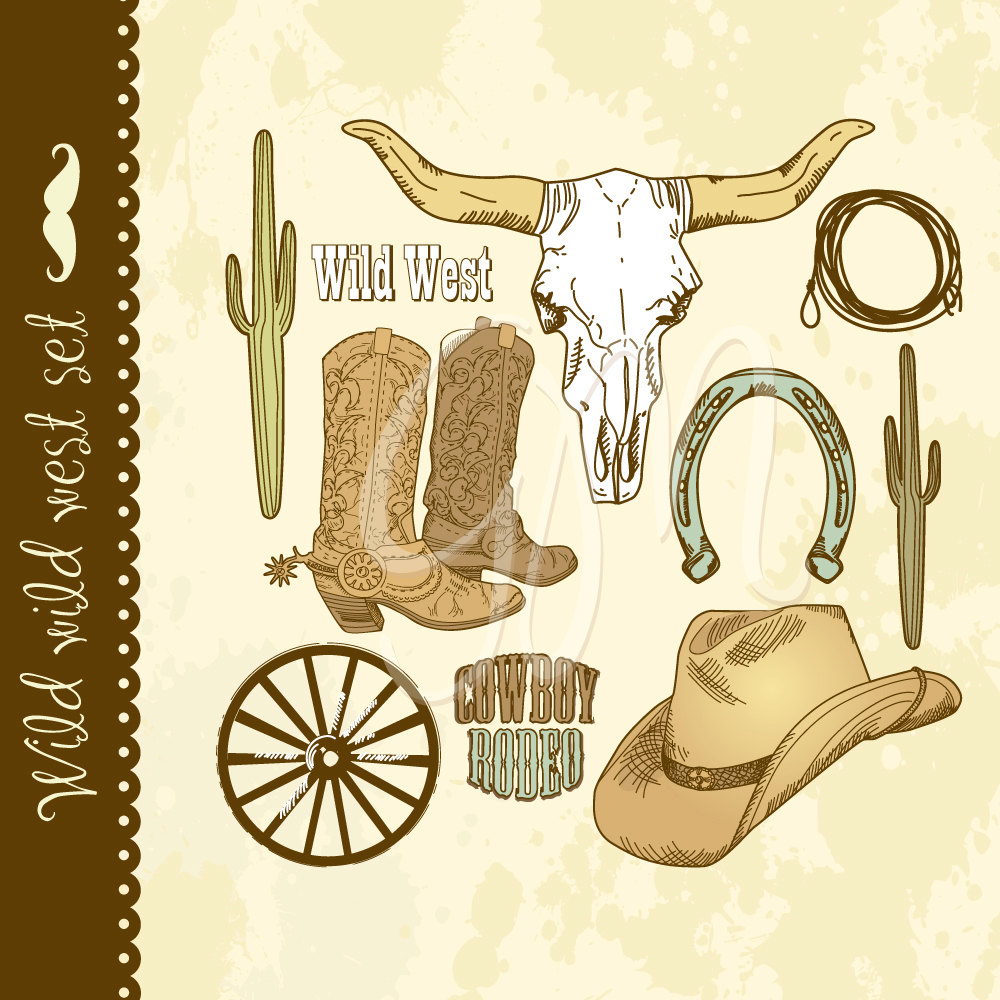 Country Western Wedding Clipart - Clipart Suggest
