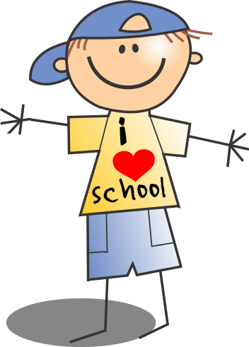 Free School Boy Clip Art