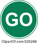 Go Sign Clipart - Clipart Suggest -  9.1KB