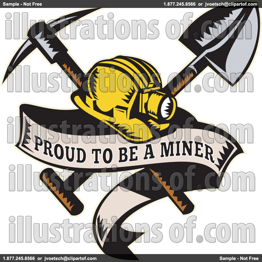 Mining Clipart Royalty Free Rf Mining Clipart Illustration By