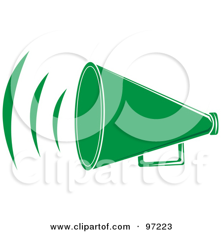 Royalty Free Bullhorn Illustrations By Pams Clipart Page 1