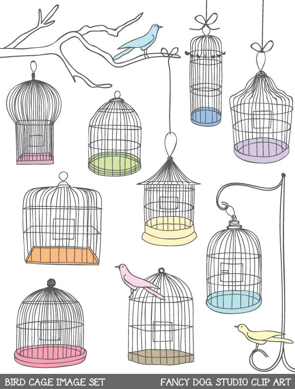cat cage clipart - photo #35