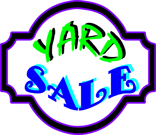 Yard Sale Signs Clipart Clipart Suggest