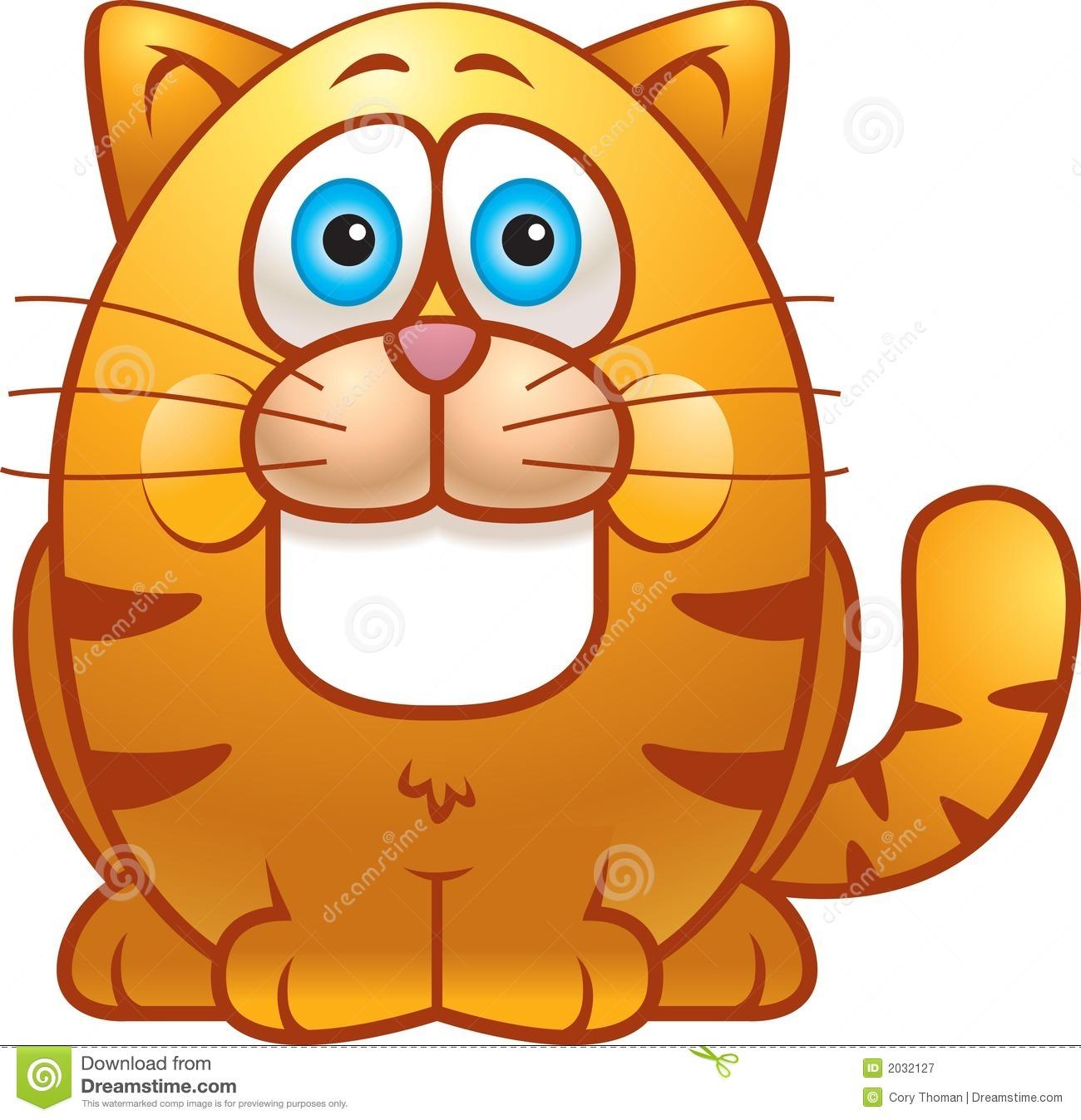 Fat Cat Clipart - Clipart Kid