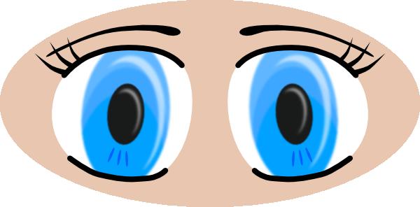 Anime Eyes Clip Art At Clker Com   Vector Clip Art Online Royalty
