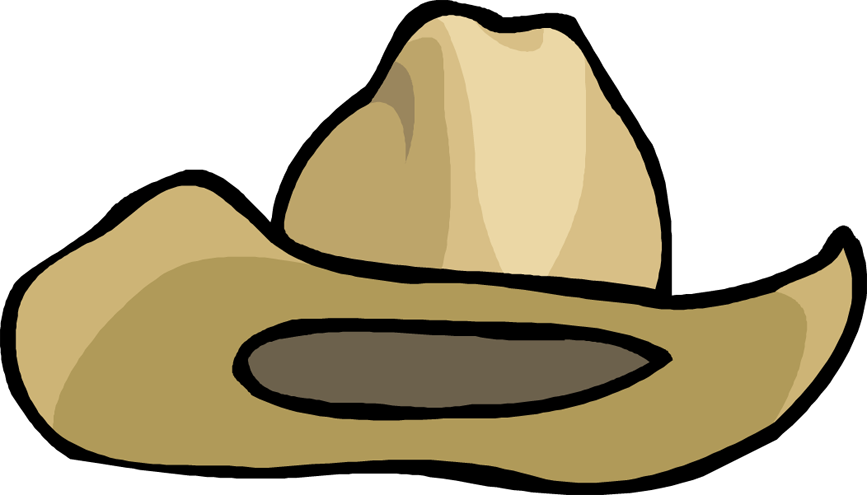 Cowboy Hat Clipart - Clipart Kid