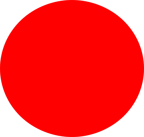 Big Red Circle Clip Art At Clker Com   Vector Clip Art Online Royalty