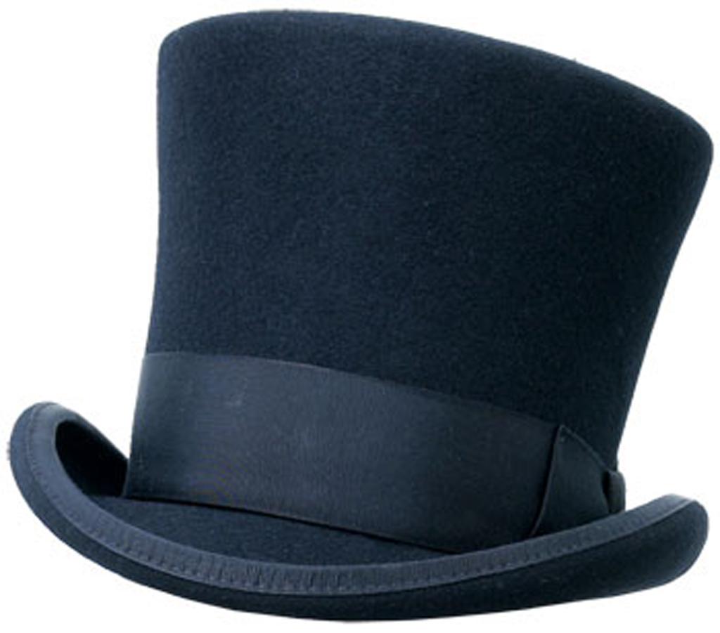 Black Top Hat   Free Images At Clker Com   Vector Clip Art Online