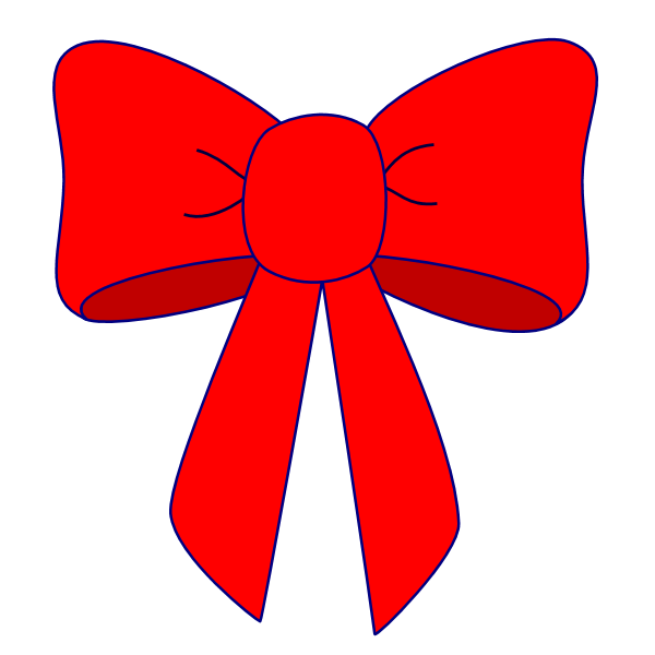 red bow clipart clipart suggest