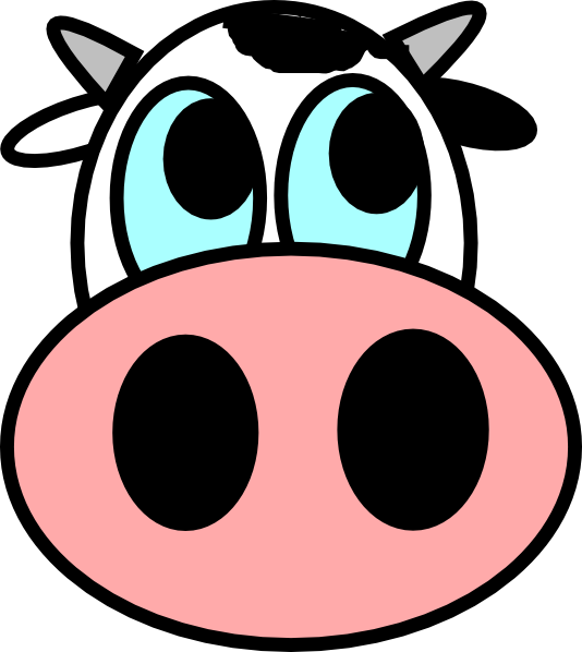 Cow Face Clipart   Clipart Panda   Free Clipart Images