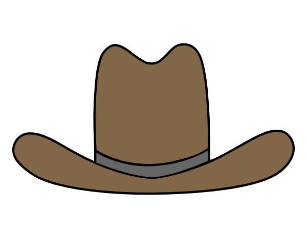 Clip Art Cowboy Hat Clip Art cowboy hat clipart kid lol rofl com