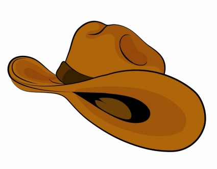 Cowboy Hat Free Vector In Adobe Illustrator Ai    Ai   Encapsulated