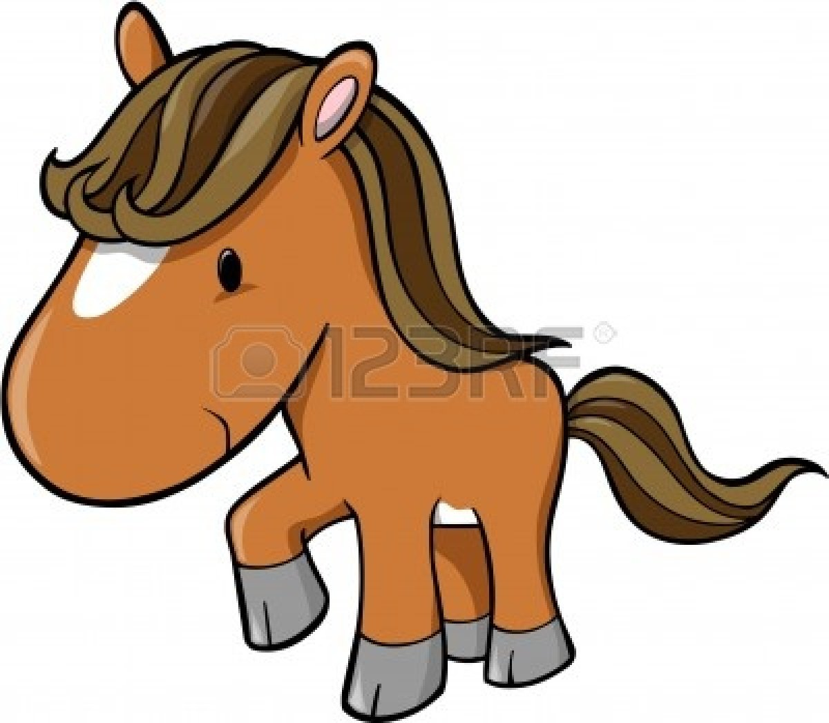 Cute Baby Horse Clipart   Clipart Panda   Free Clipart Images