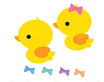 Baby Duck Free Clipart - Clipart Kid