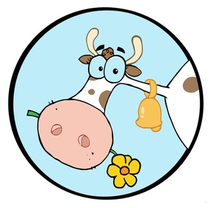 Dairy Cow Clip Art Images Dairy Cow Stock Photos   Clipart Dairy Cow