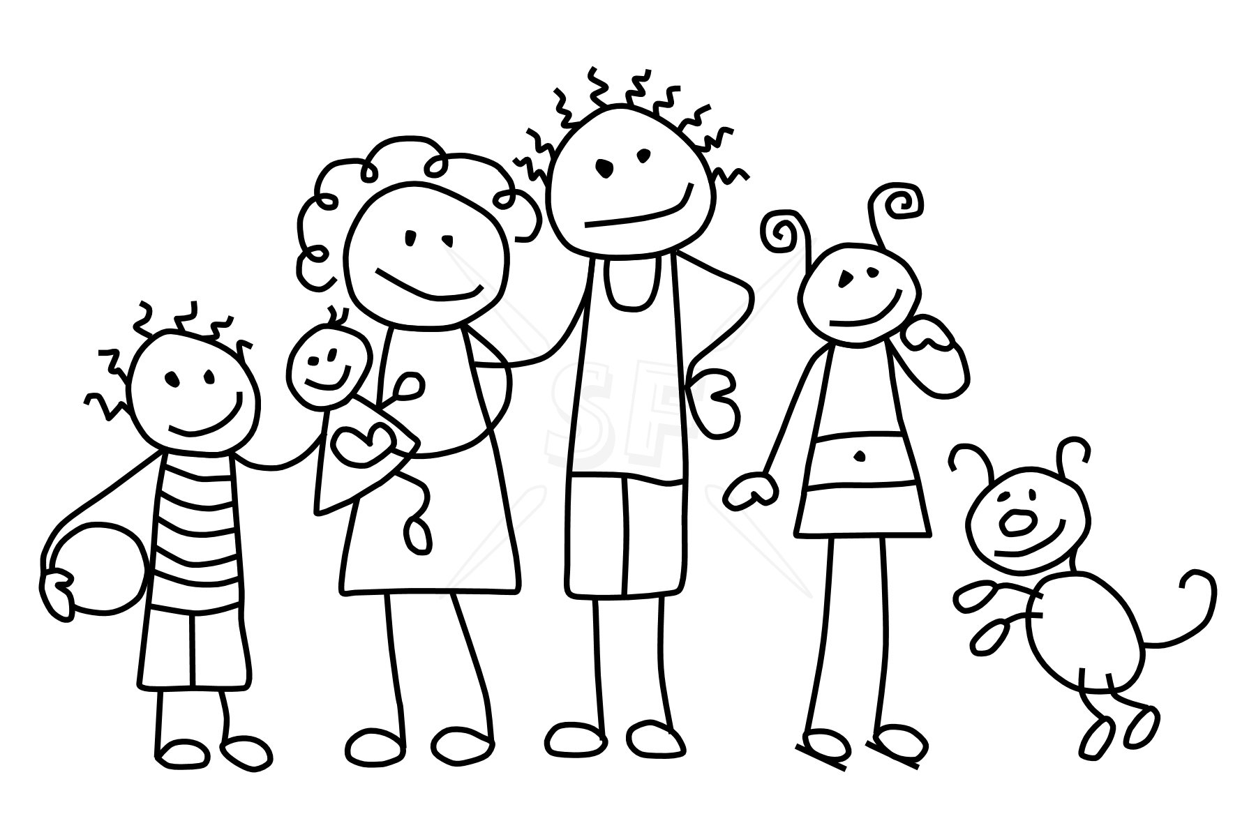 Clip Art Free Stick Figure Clip Art clip art stick figure family clipart kid member mix n match figures clip