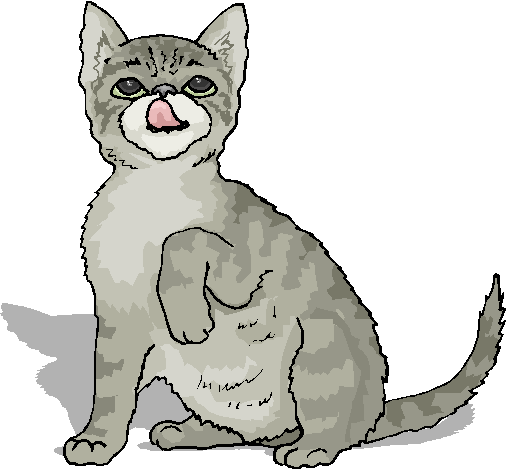 Funny Cat Clip Art Pictures