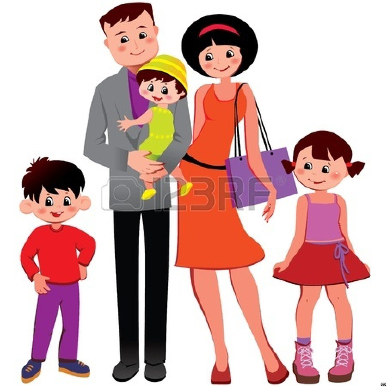 Happy Family Clipart   Clipart Panda   Free Clipart Images