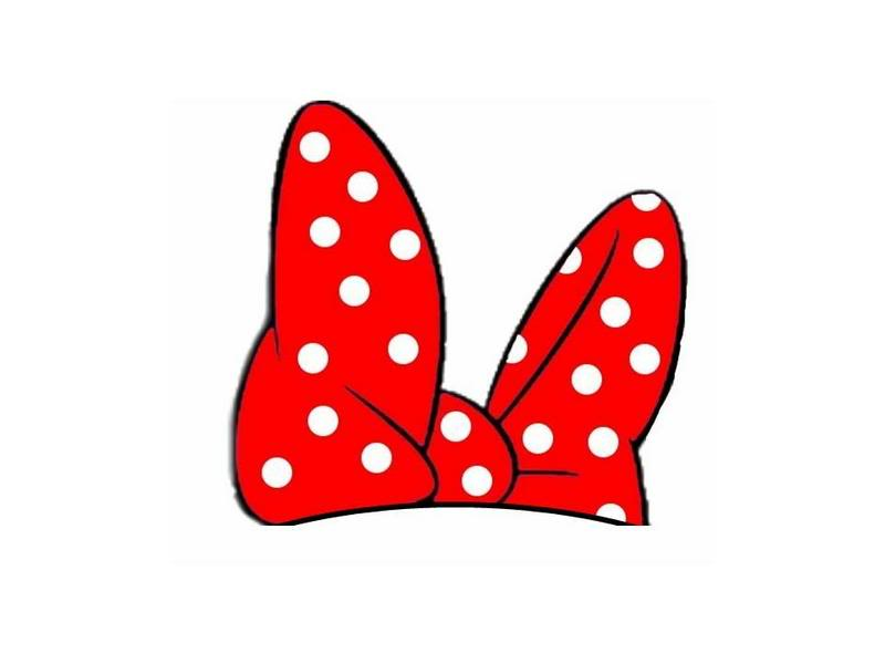 Minnie Mouse Red Bow Clipart Images   Pictures   Becuo