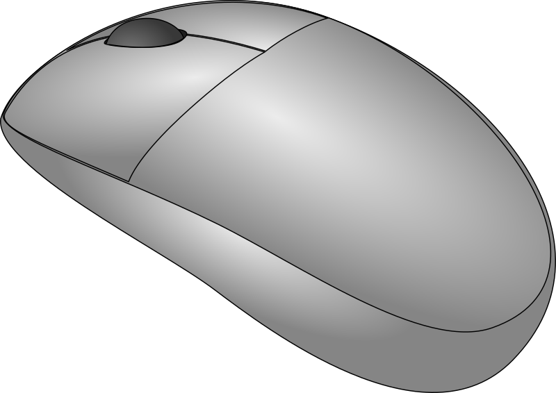 Mouse By Heyyo   A Clean Cordless Mouse Drawing