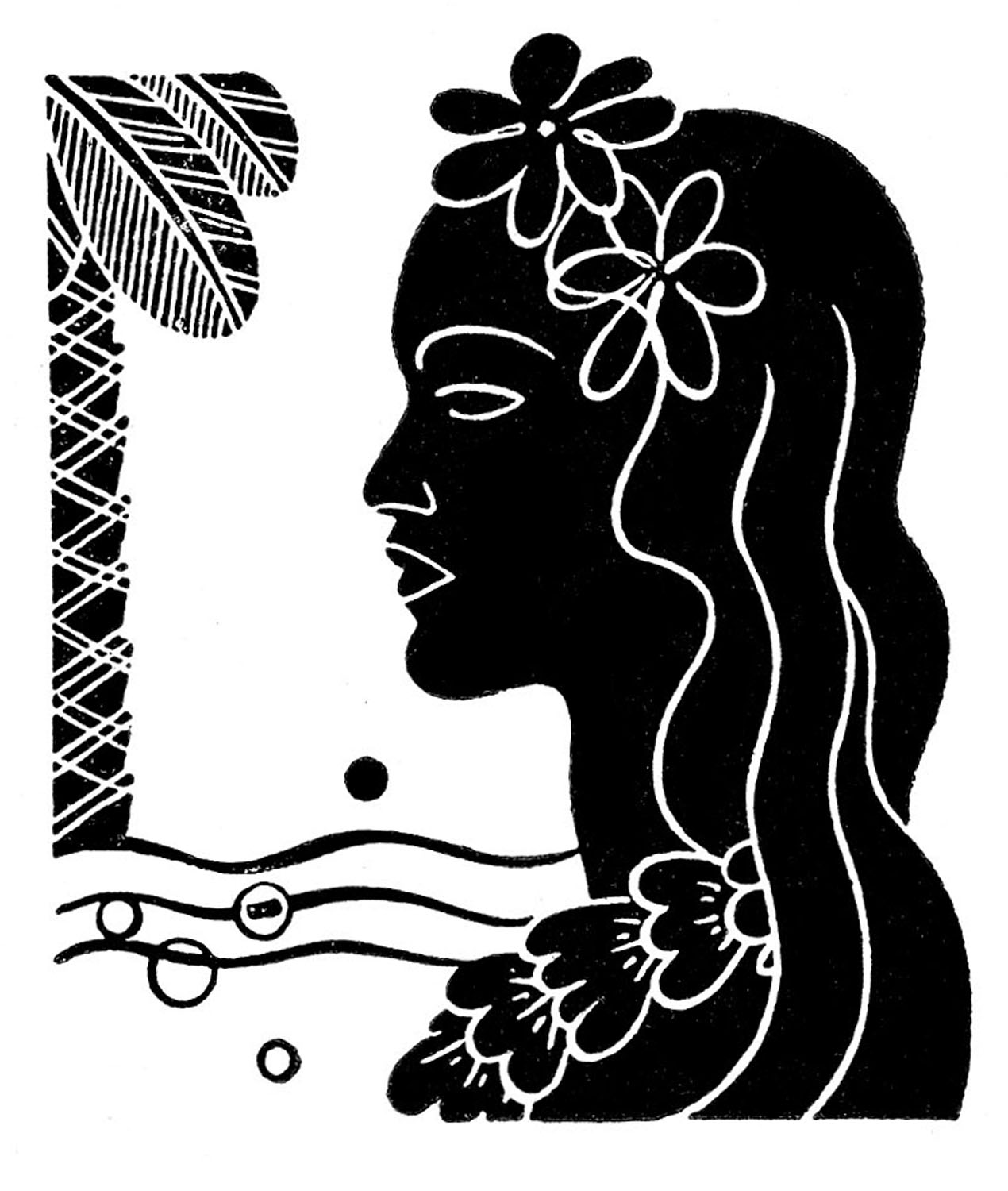 People Being Nice Clipart Retro Clip Art Hawaiian