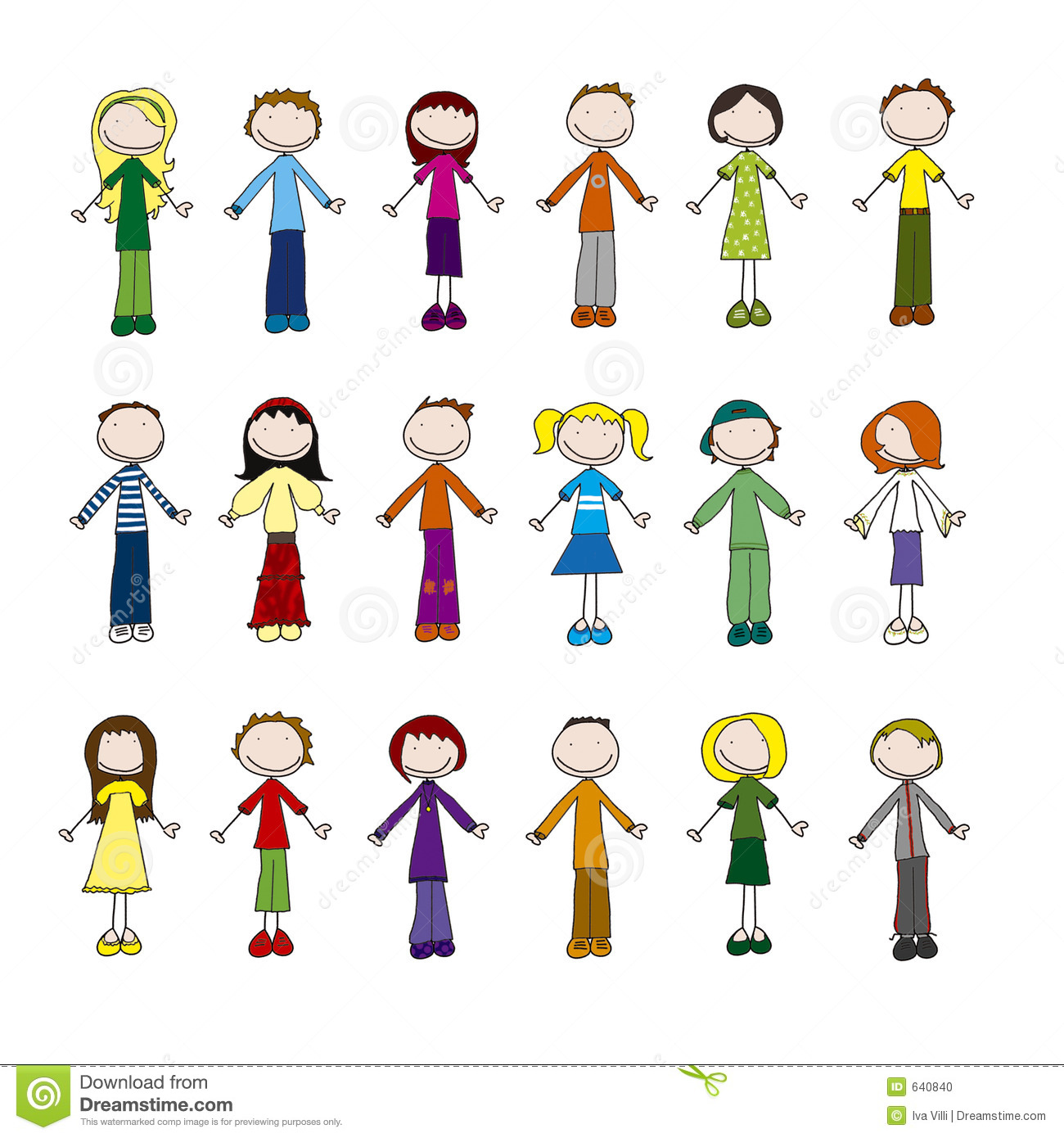 People Being Nice To Other People Clipart Family Clipart 6 People