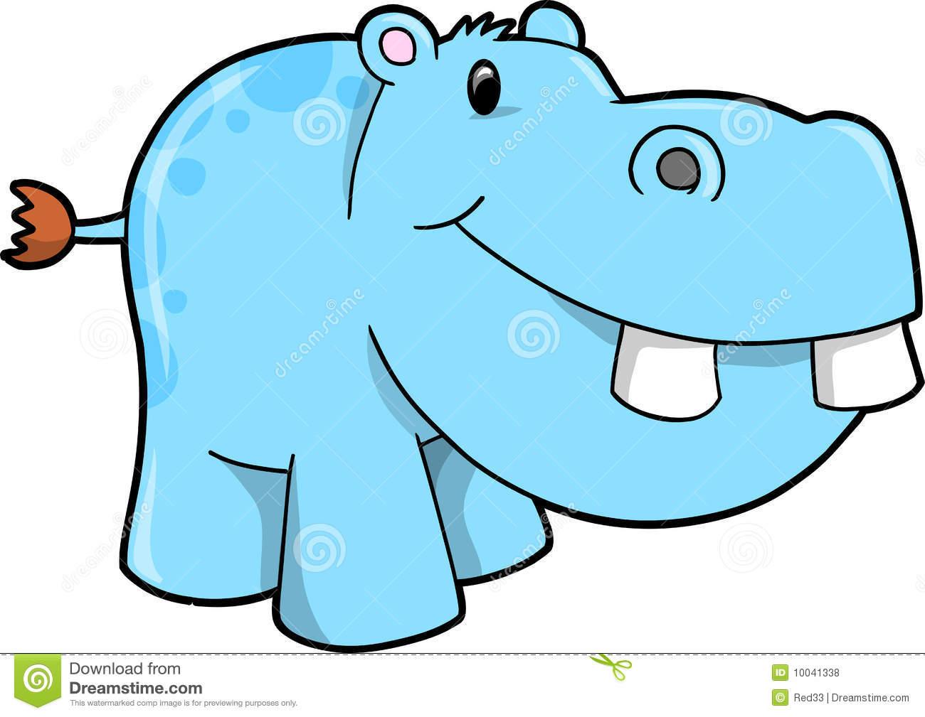 free clip art hippo cartoon - photo #38
