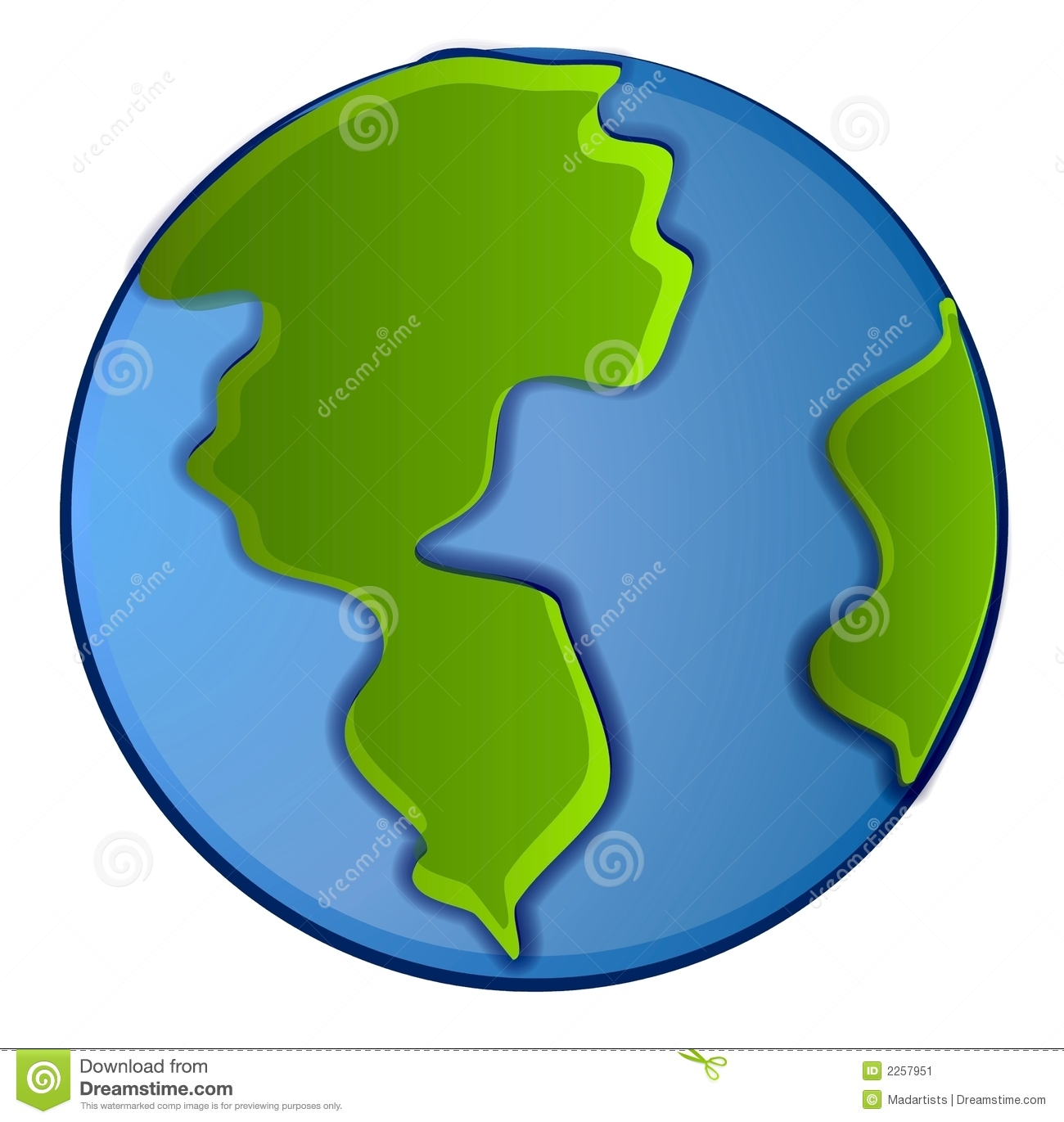 Planet Clipart Isolated Planet Earth Clip Art