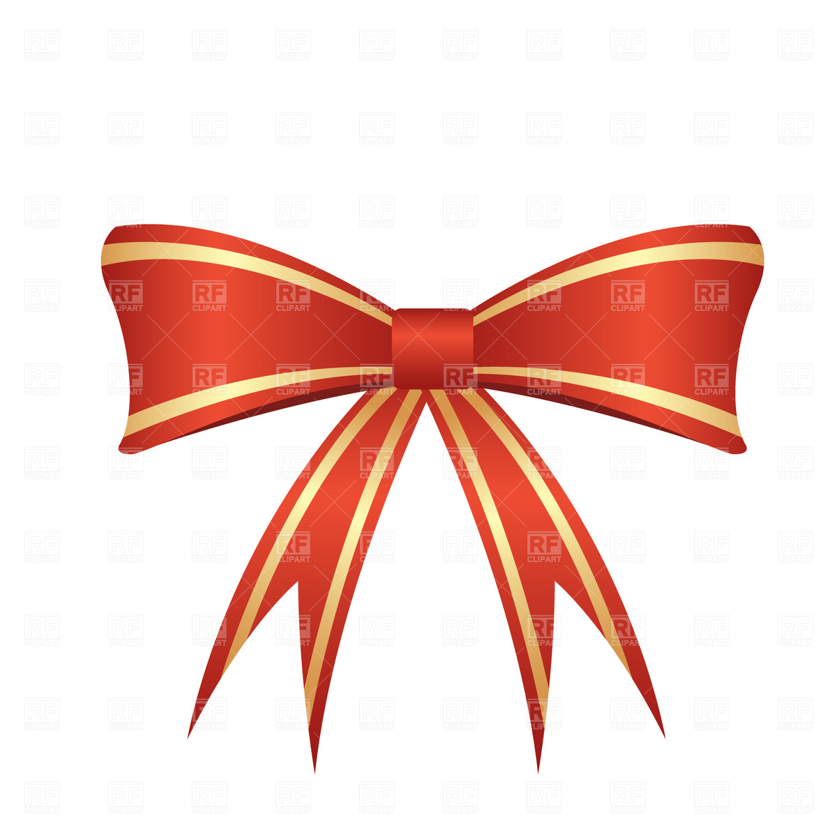 Red Bow 1855 Design Elements Download Royalty Free Vector Clipart