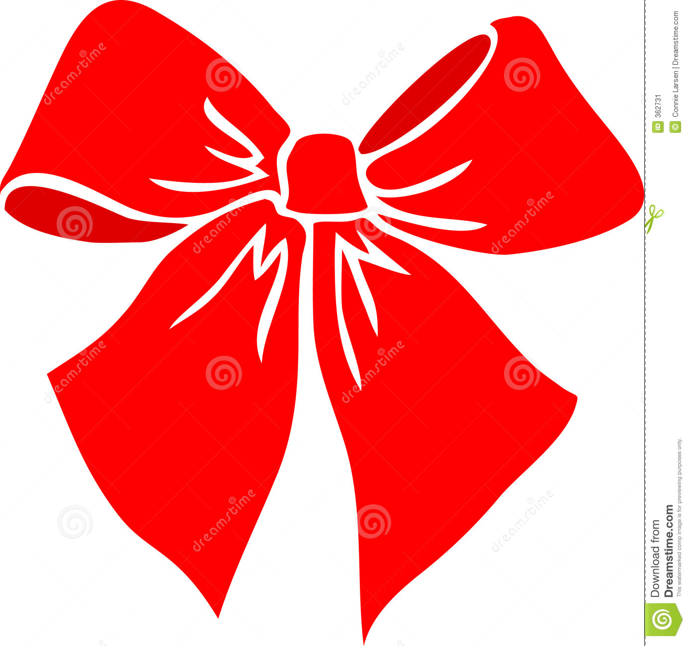 Red Bow Eps Stock Image   Image  362731