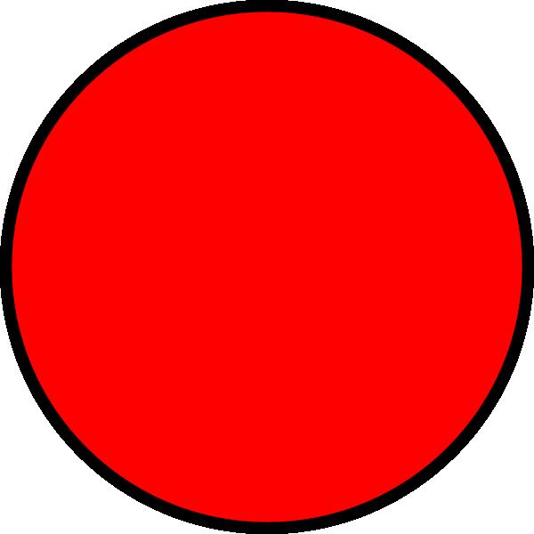 Red Circle Clip Art At Clker Com Vector Clip Art Online Royalty