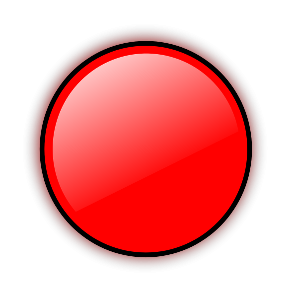 Red Circle Clipart Medium Size
